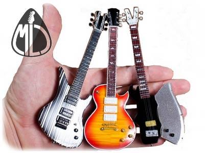 mini guitar collection