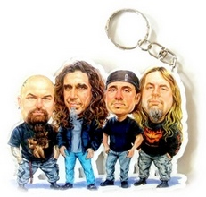 caricature-keychains