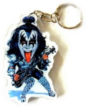 kiss-band-keychain